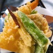 ◆海老と野菜の天ぷら◆