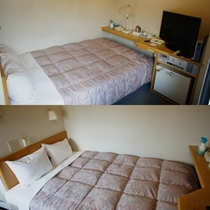 ★広々ベッドのダブルルーム!カップルにおすすめのお部屋です!★