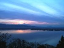 東郷湖夕景