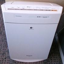 全客室に加湿器付き空気清浄機をご用意しております。
