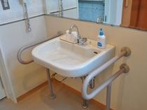 バリアフリー客室 洗面