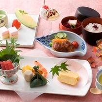 もちろんお子様料理もご用意しています。楽しいお食事タイムをお楽しみください。