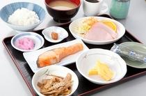 人気の朝食(和定食)