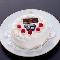 ≪誕生日プラン≫ホールケーキを1個サービス♪