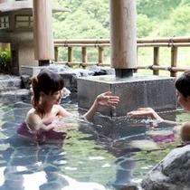 ≪露天風呂付大浴場≫源泉100%でしっとりつべつべ。