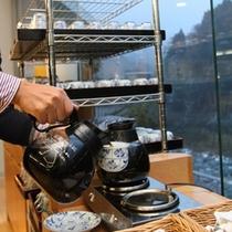 ≪朝食バイキング≫黒部宇奈月の水で点てたコーヒー