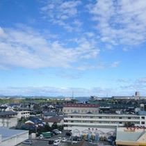 6階客室からの景色(海川)