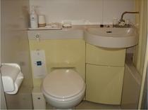 トイレと洗面上