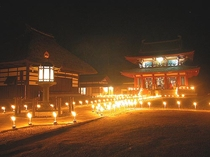 徒歩10分 薬師寺分院 蓼科山聖光寺 (萬燈供養 7月17日)