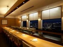 寿司カウンター(21階)