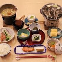 【朝食一例】体に優しいご朝食をお召し上がり下さい。