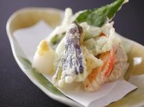 加賀野菜の天ぷら(別注文可)