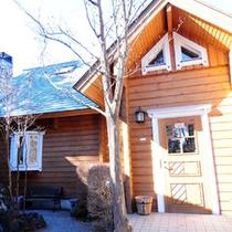 *ログハウスC/一戸建てフィンランド製のログハウスです。