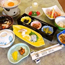 【お食事】朝食/栄養満点朝食をお召し上がりください!