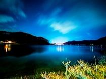 河口湖夜景