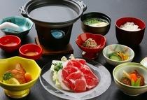 黒豚しゃぶ膳(えらべる至福の朝ごはん)