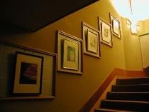 廊下の絵画ー夜