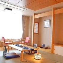 [標準和室]10畳+広縁 (トイレ付)当館の標準タイプの和室です。