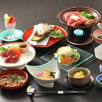 ◆ステーキ以外にもいろいろな郷土料理がありますから、けっこう【お腹いっぱい】になるかも♪