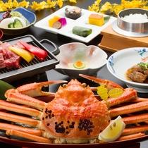 【献上蟹】鮮度も味も最高級!至福のお食事をお楽しみください…。