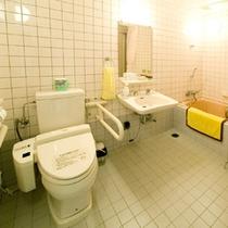 バリアフリーツイン洋室のバスルーム