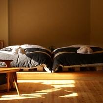 天神ベッドルーム正面300×300