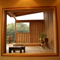 岩戸露天風呂お部屋から500×500