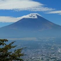 乙女峠より望む富士