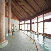 【ホットハウスカムロ浴室】アルカリ性でお肌に優しい泉質の天然温泉です