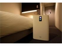 加湿機能付空気清浄機(全部屋完備)