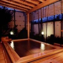 □檜露天風呂