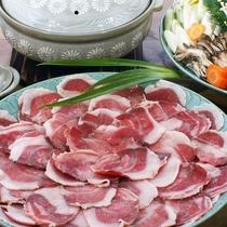 【夕食一例】丹波産ぼたん鍋