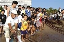参加無料!夏休み地曳網み無料体験!