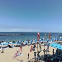 千鳥ヶ浜海水浴はすぐ近く!