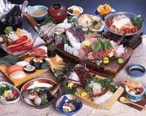 にぎり寿司つき会席