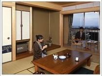 和室でのんびり〜(^^)