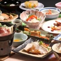 和食膳の献立の一例 基本膳