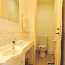 *【讃嘆の間】トイレ・洗面を完備しております