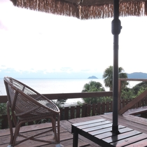 *抜群の眺望と開放的な雰囲気がお楽しみいただけます