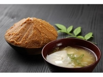 味噌醤油醸造元カネダイさんの味噌汁