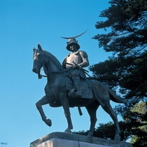 仙台のシンボル♪仙台藩62万石のお殿様【伊達政宗像】