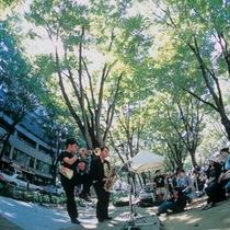 杜の都仙台の街の至るところが音楽のステージに♪【定禅寺ストリートジャズフェスティバル】