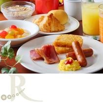 【朝食】洋食派にも。