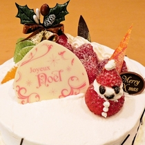 【クリスマスケーキ】