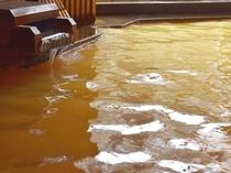 有馬の名泉「金泉」をかけ流しの湯でご堪能ください。