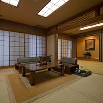 【2F和洋室】2間続きの和室+ダブルベッドルームのお部屋。