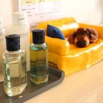 【ジャグジー風呂】アメニティ一例