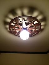 お風呂場の照明