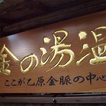 金の湯温泉