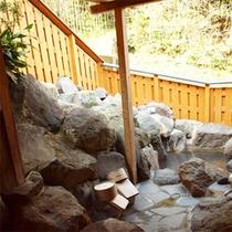 客室タイプC 岩風呂(露天)
